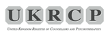 UKRCP logo for ada mournian counselling in somerset